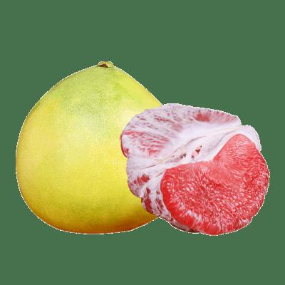 琯溪红心蜜柚2只约5斤