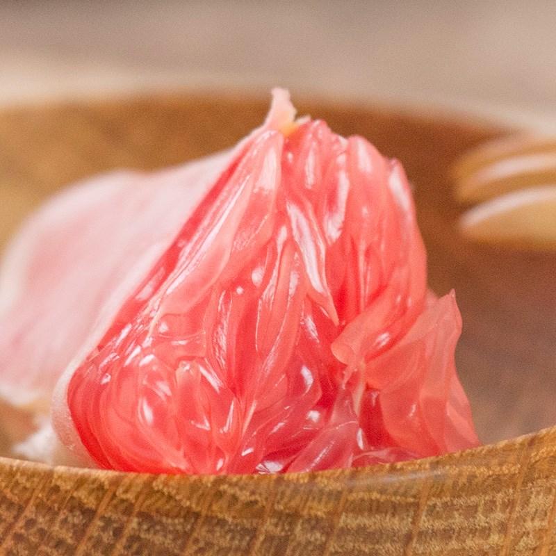 当季新鲜红心红肉柚子5-6斤