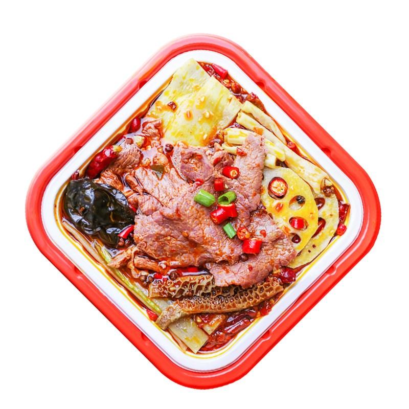 网红速食牛肉小火锅422g