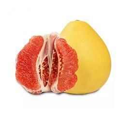 荆扉院子 红心香柚 1个装 单果1.8-2.2斤*2件