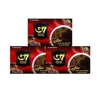G7 COFFEE黑咖啡粉30g*3盒 共45杯