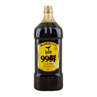 非转基因特级鲜味生抽2L酿造酱油