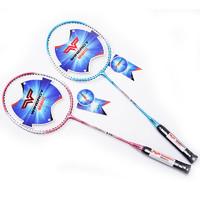 威耐尔 2支装送3羽毛球2手胶1拍套